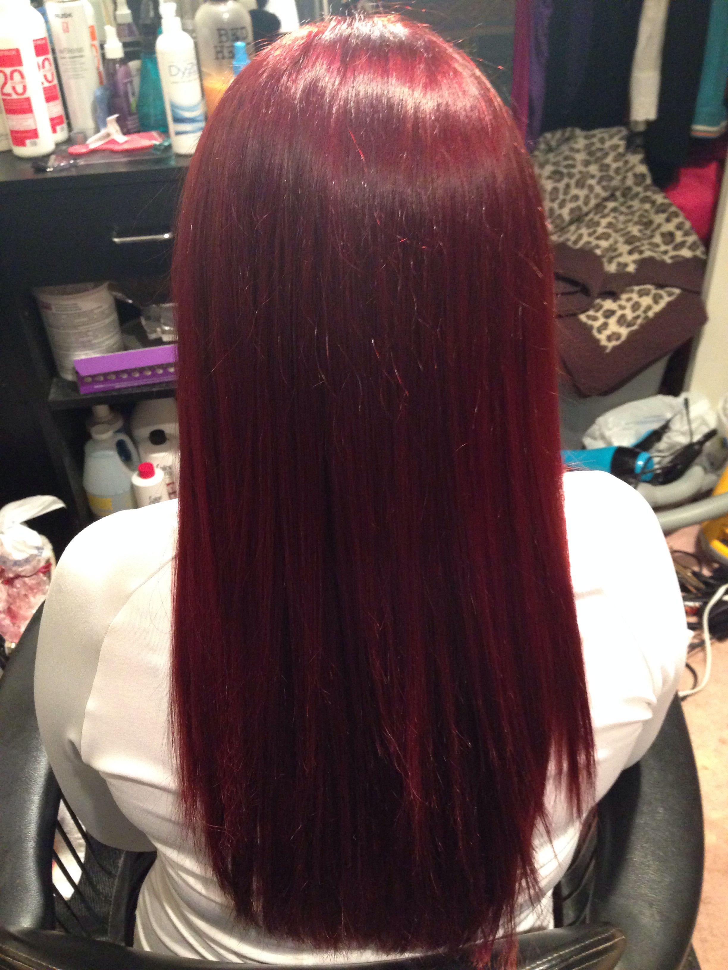 Pin By Alyssa Wright On Hairrr Matrix Hair Perfect Hair Hair