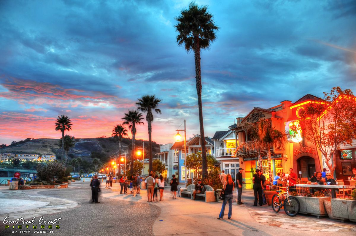 Downtown Avila Beach California By