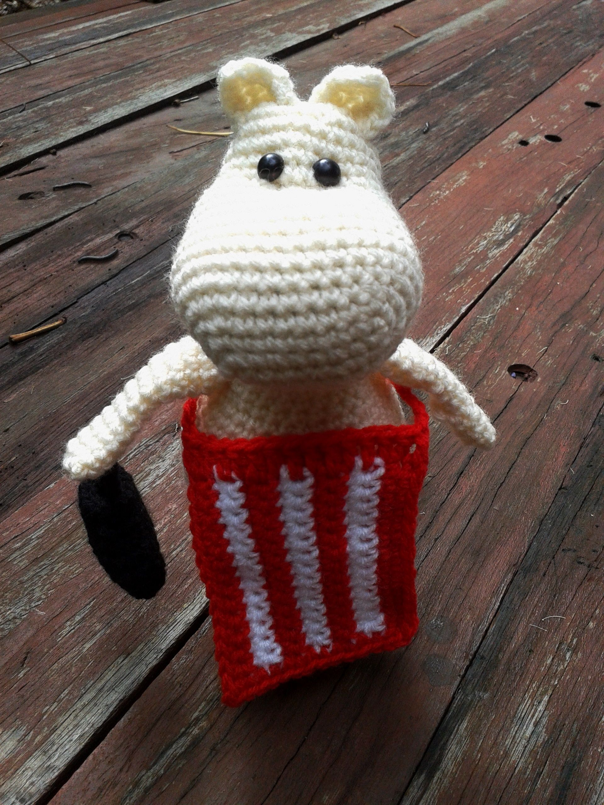 Moominmama. Project info and pattern link here; http://www.ravelry ...
