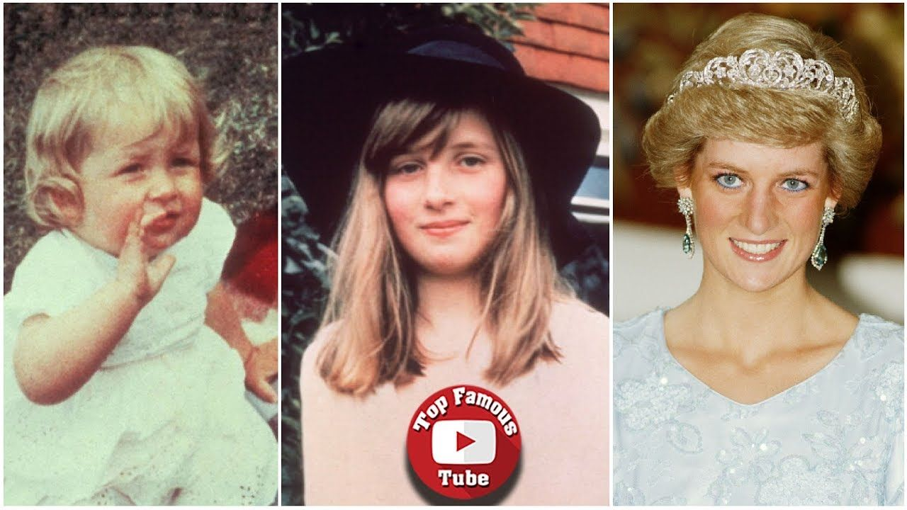 Princess Diana Transformation From 1 To 36 Years Old