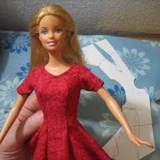Image result for clothes patterns for Barbie dolls