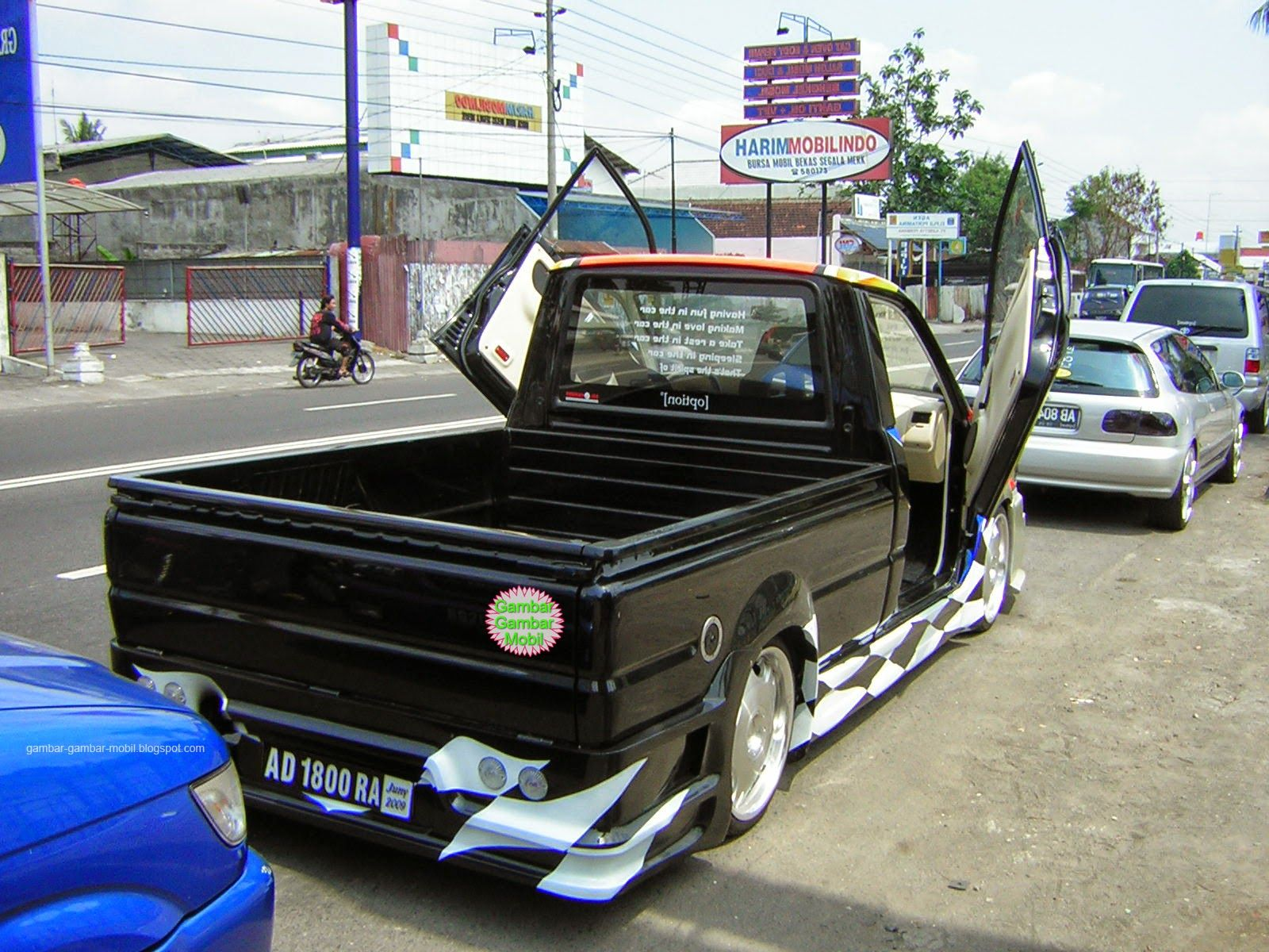 Foto Modifikasi Mobil Pick Up L