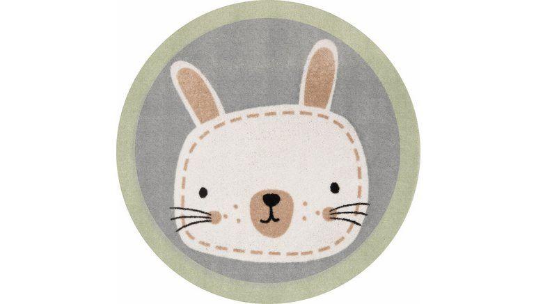 Vloerkleed Kinderkamer Rond : Vloerkleed voor de kinderkamer »leslie« rond hoogte 7 mm