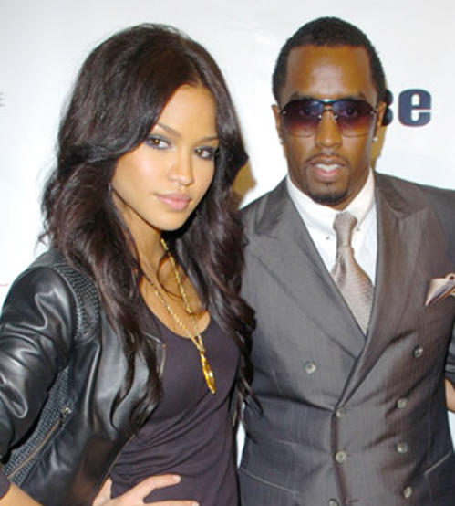 P.Diddy and Cassie Boyfriend Girlfriend how cute. | Celeb ...