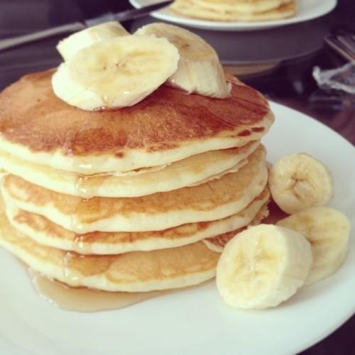 Banana pancakes *_*