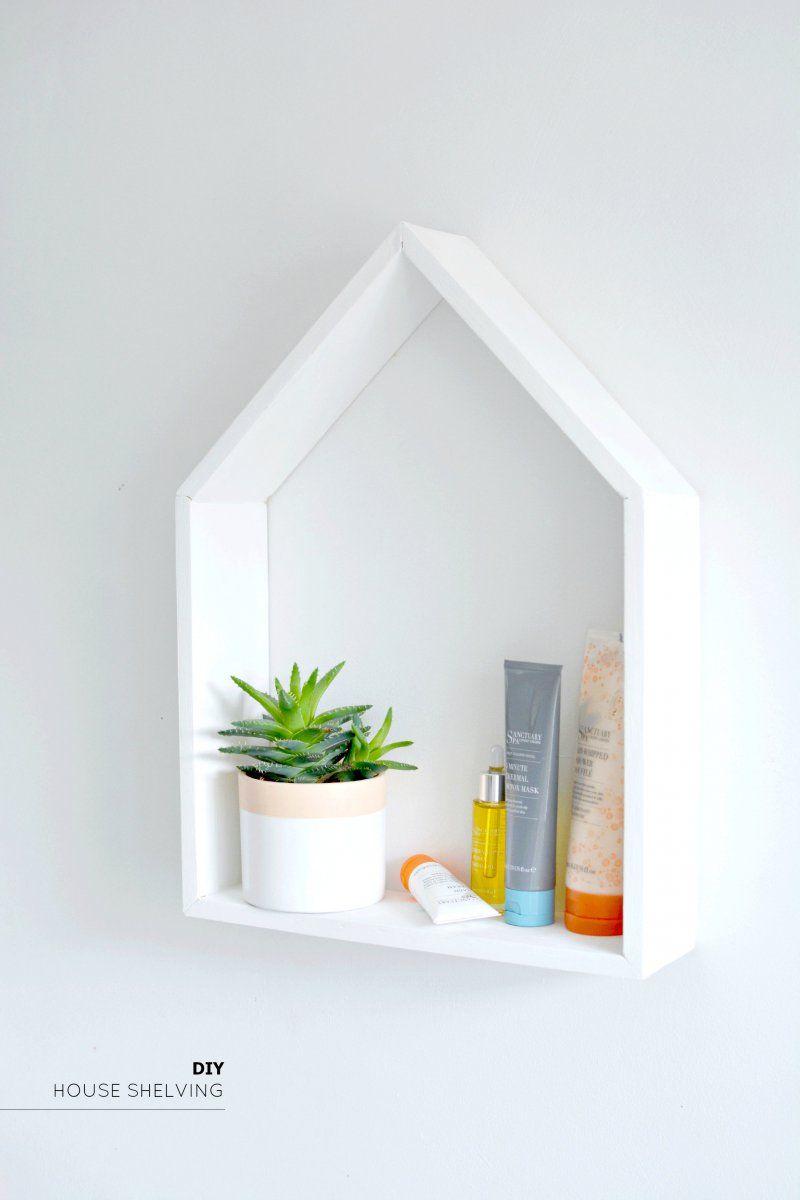 Diy House Shelving House Shelves Diy Bathroom Storage Unique Home Decor