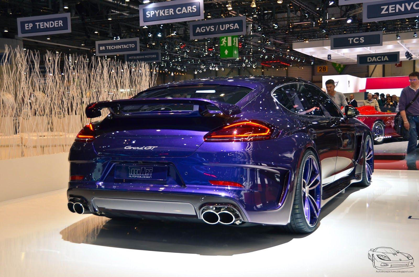 Techart GrandGT Porsche Panamera Turbo S Executive  Porsche