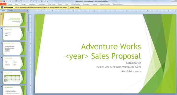 free sales template for powerpoint 2013 widescreen business