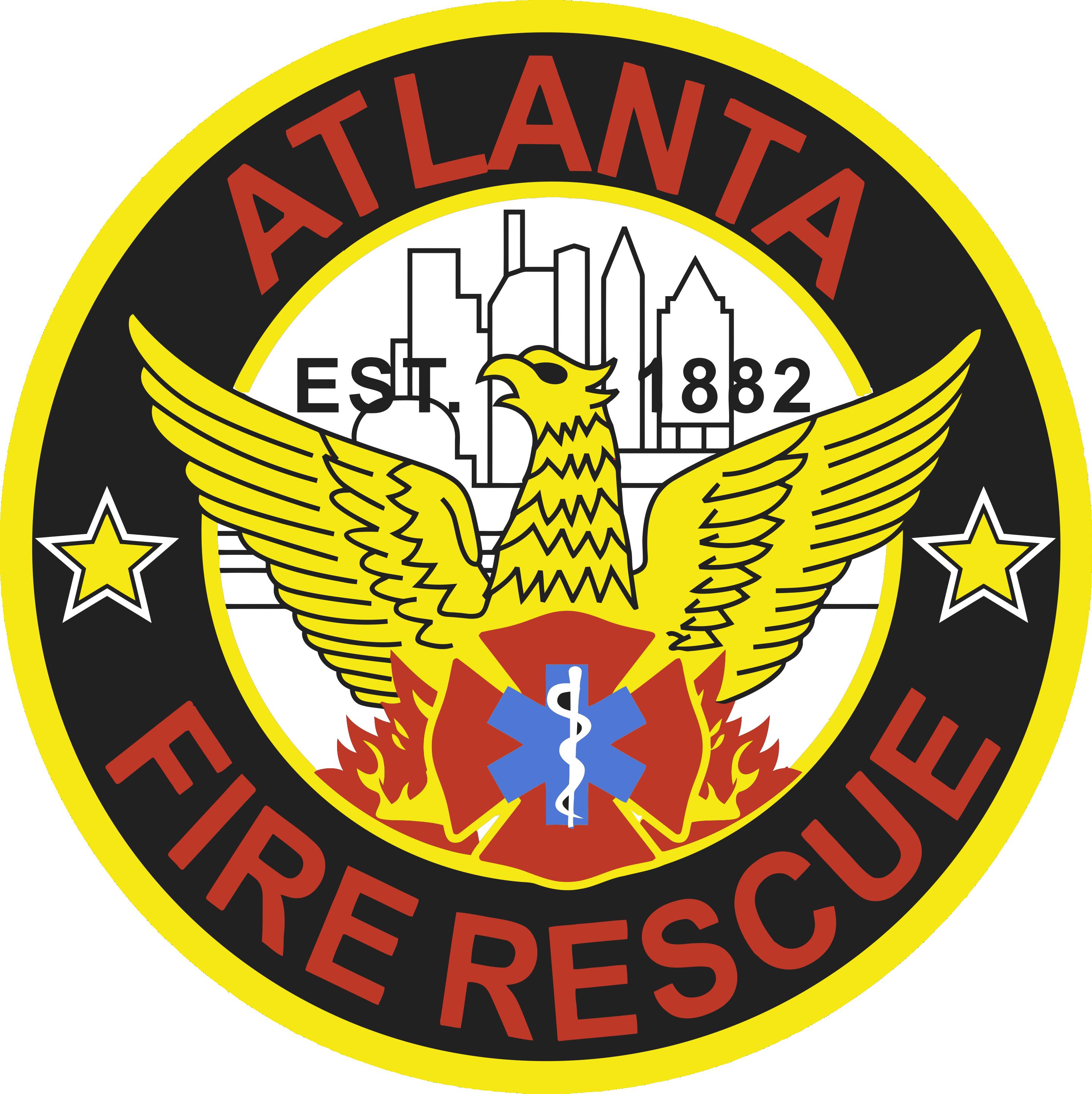 Atlanta Fire Rescue Sticker By Design