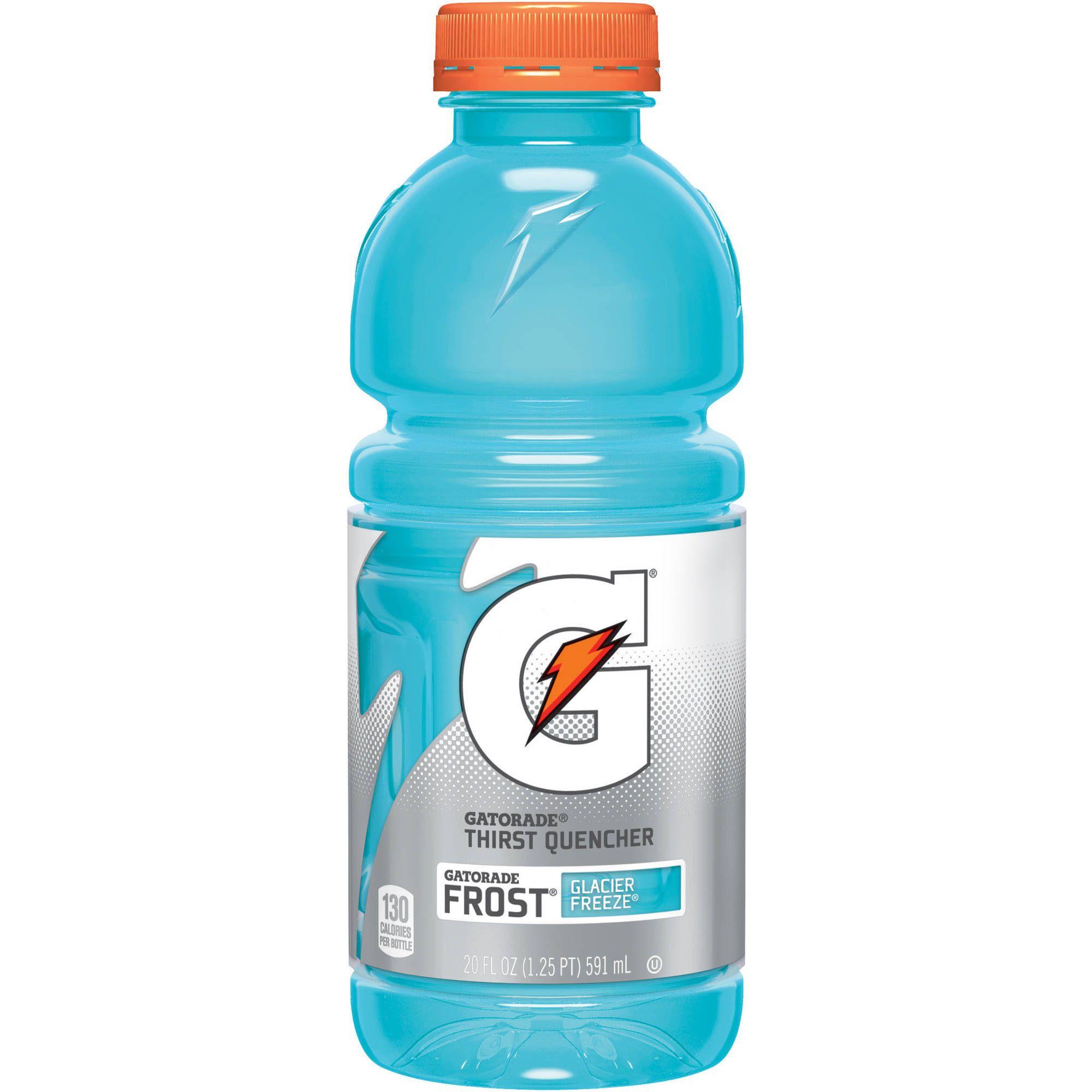 Gatorade Thirst Quencher Glacier Freeze Sports Drink 20 Fl Oz Walmart Com Gatorade Sports Drink Drinks