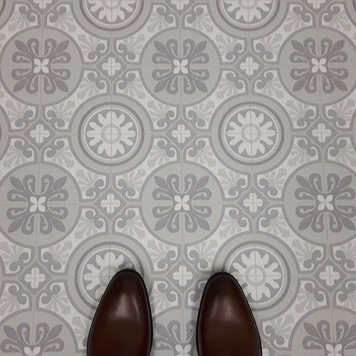 Care Free Sheet Vinyl Flooring Is Perfect For Kitchens It: Moroccan Style Cushioned Vinyl Flooring Sheet Tangier 06