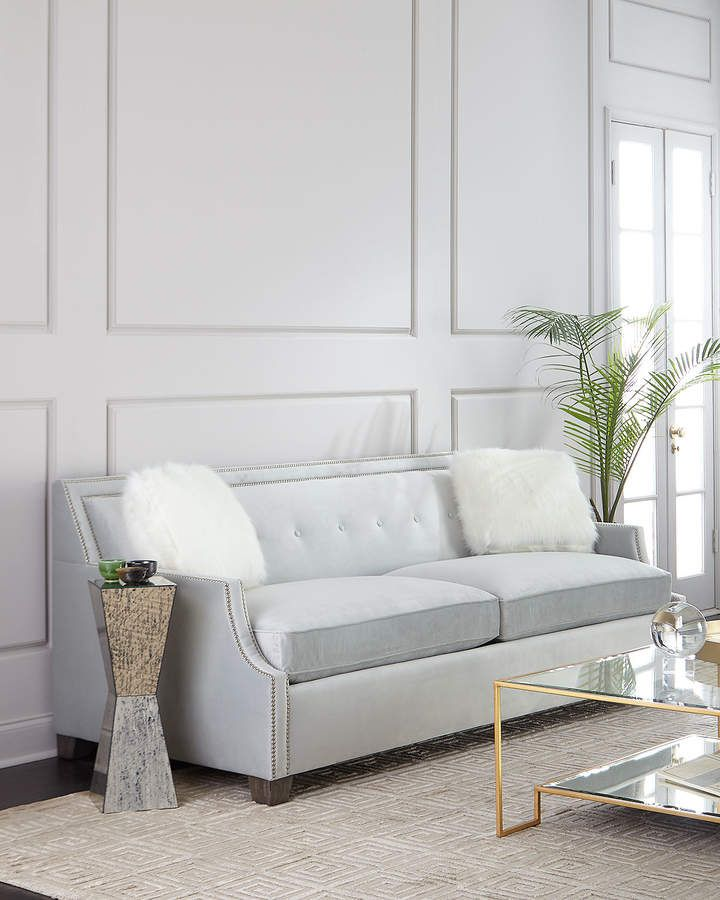 Franco Queen Sleeper Sofa Edge Box