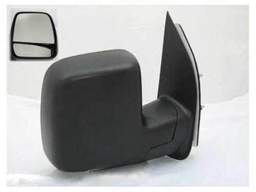 2007 Ford Van Ford Econoline Right Passenger Side Manual Door Mirror Dual Glass Fo1321253