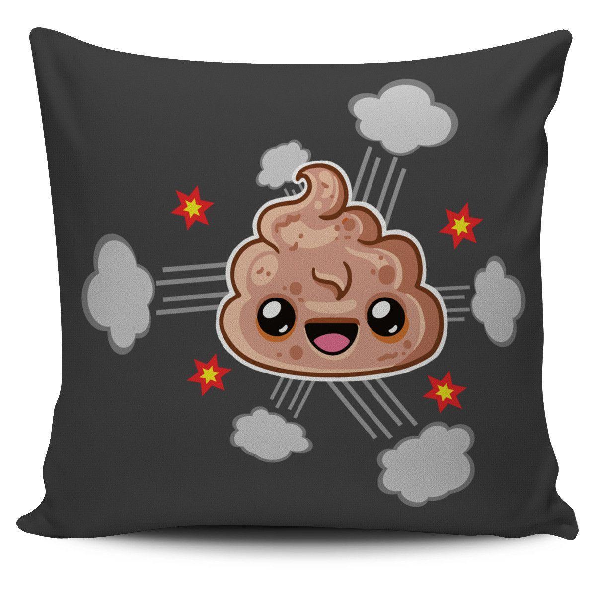 Poop Emoji Pillow | Funny Character Design
