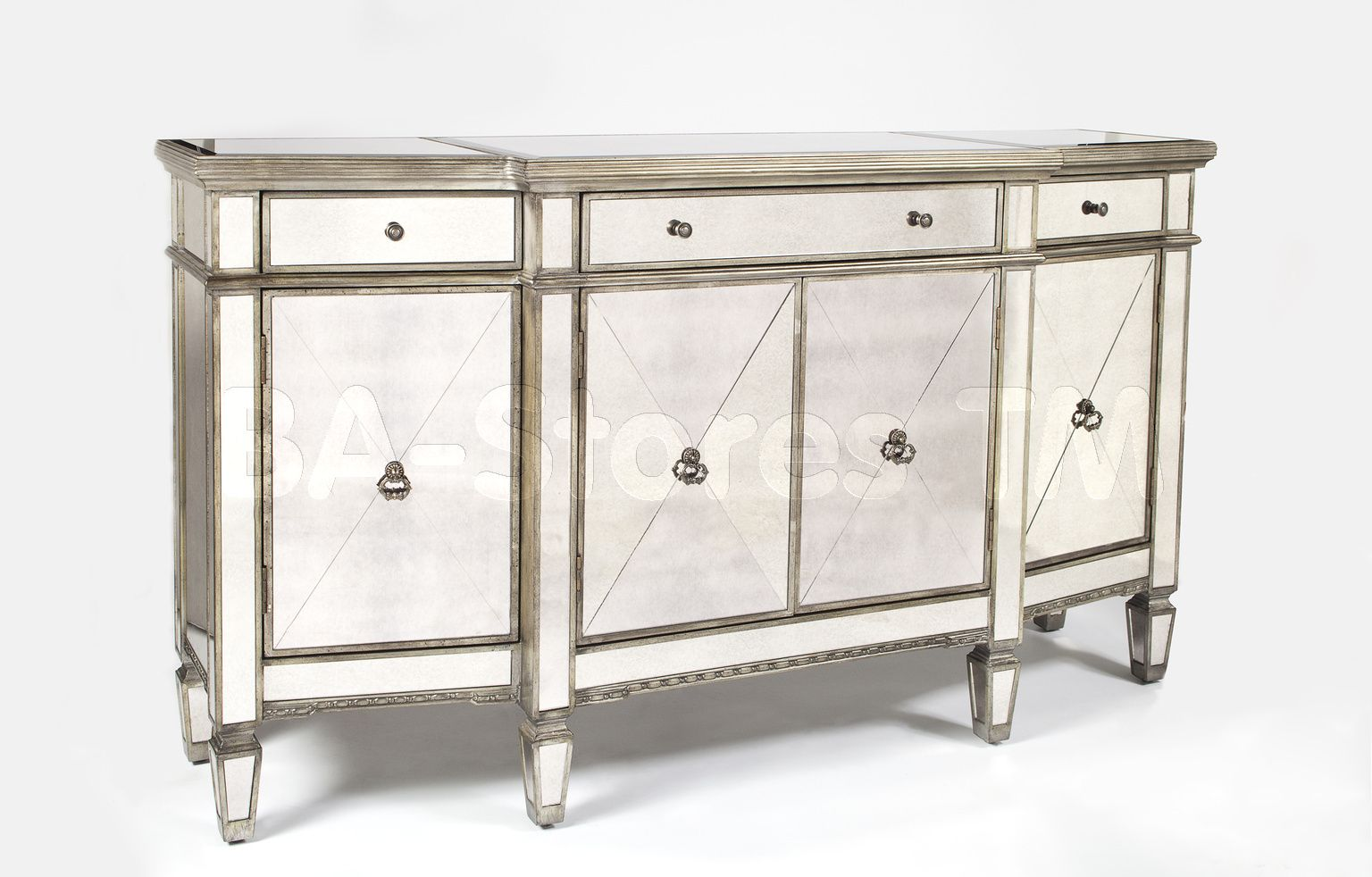 Mirrored buffet mirror triple buffet china buffets and cabinets 2614146 3