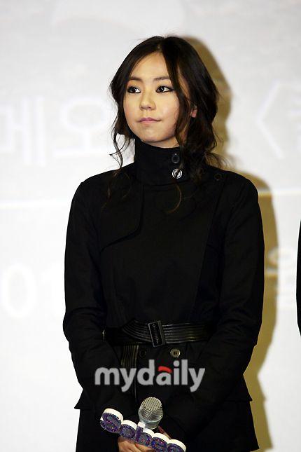 Wonder Girls Sohee Black Long Wavy
