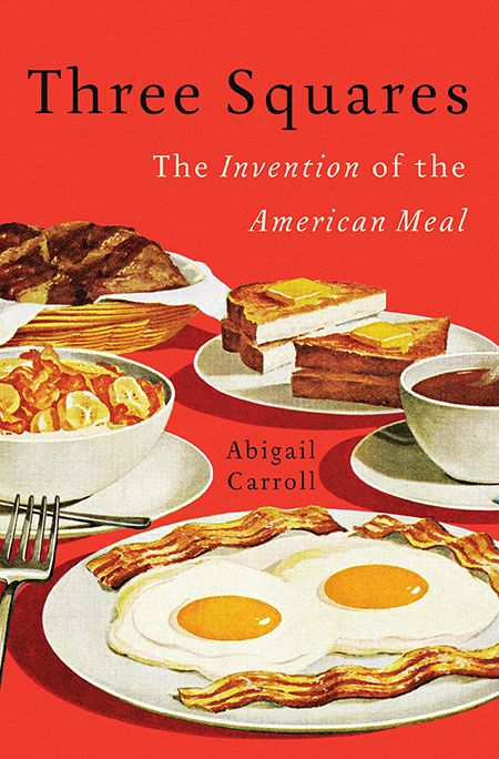 I'm always fascinated by the histories behind the things we assume are normal or have always been a certain a way--as American as apple pie or three square meals a day.  This one is going on my reading list.