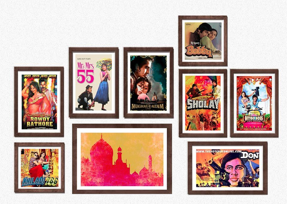 0899ffd18a43 Add a splash of color to your wall with our Bollywood wall frames ...