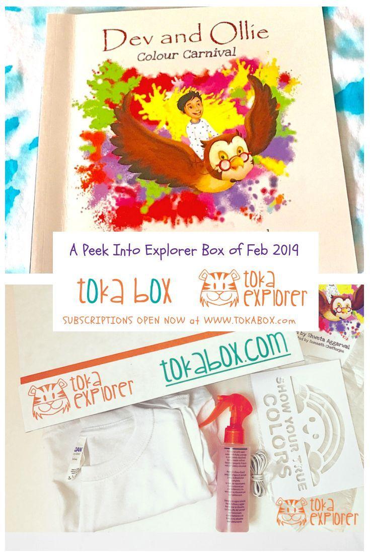 Celebrate Holi this month with Toka Explorer Box.Enjoy the