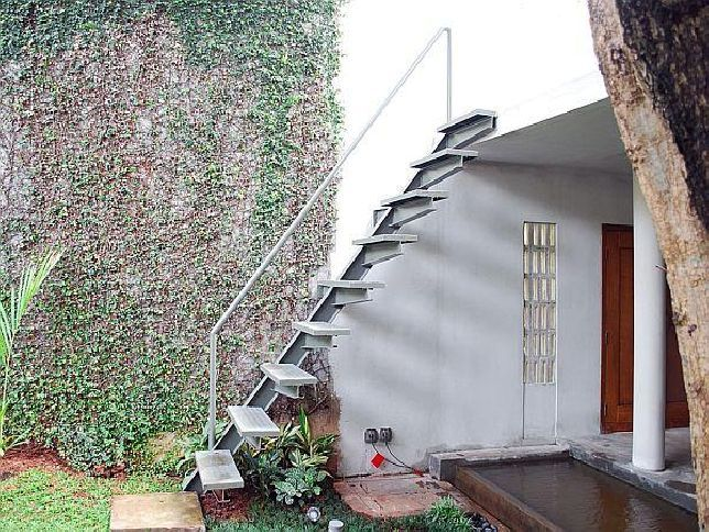 Delightful Outdoor Metal Staircase Design Prefab Stairs Prefab Outdoor