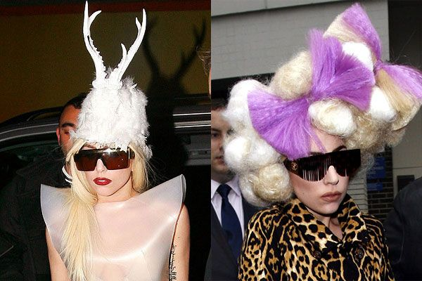 30 Pictures Of Lady Gaga Crazy Hairstyles Wigs Bow Hair Ideas Crazy Hair Lady Gaga Funky Hairstyles
