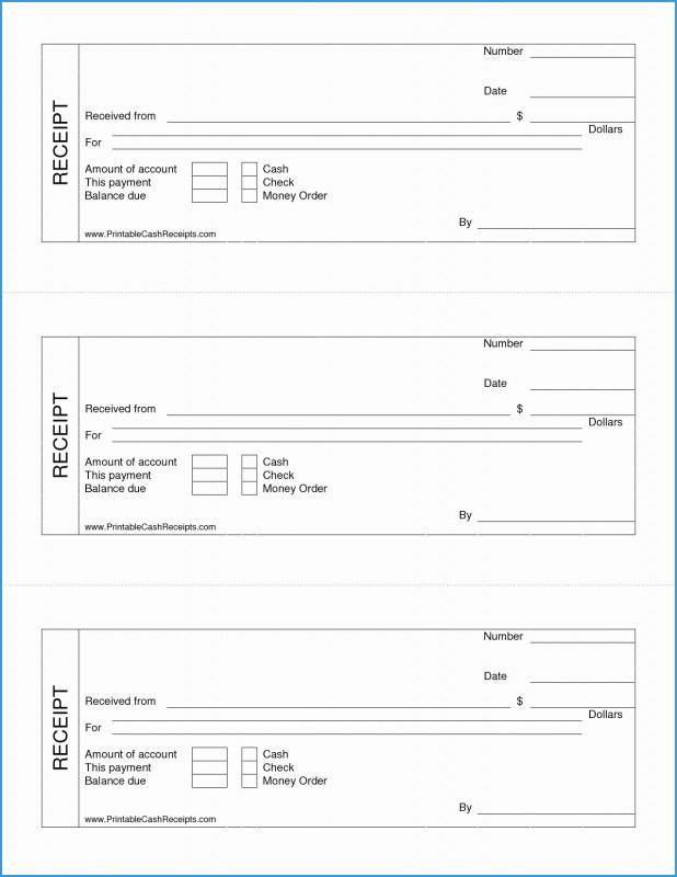 Blank Money Order Template Unique Free Printable Receipt