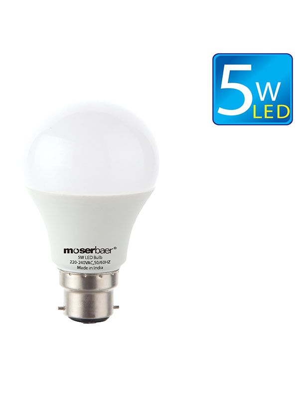 Customers Can 5w And 7w Moser Baer Eco Led Bulb With Only Rs 359 These Bulbs Are 90 Brighter Than Cfl Which Has The Equal Wattage