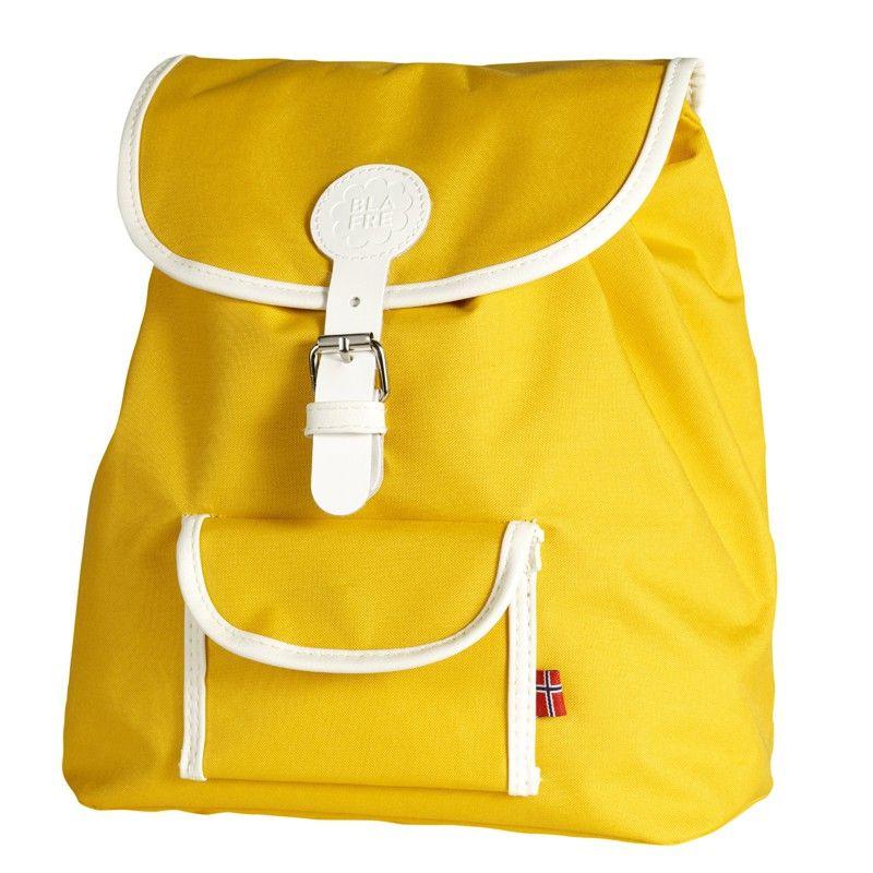 Rucksack in gelb von Blafre | Rucksack kinder, Kleinkind