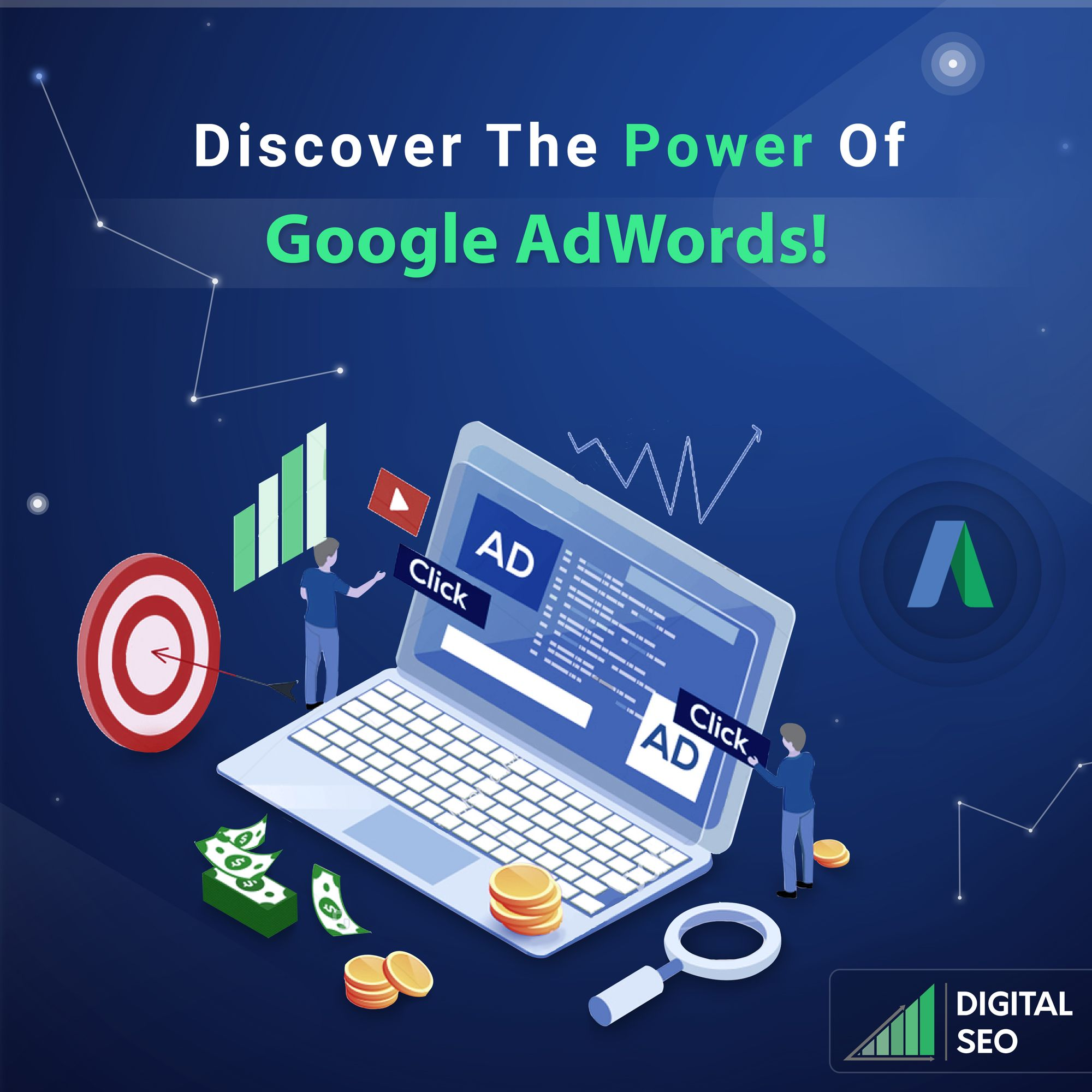GoogleAdwords is a powerful advertising strategy for