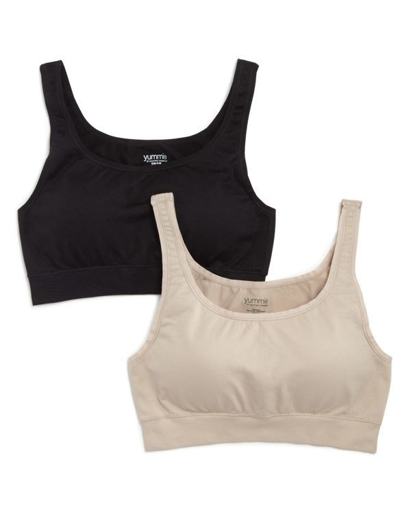 Yummie by Heather Thomson Scoop Wireless Bra, Set of 2 - Compare at $58