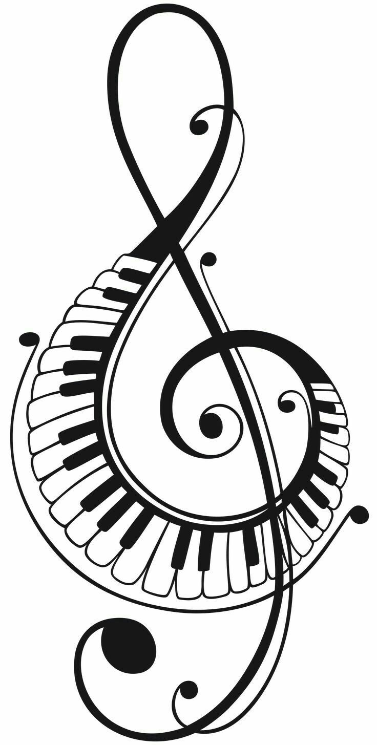 Pin By Dawn Hoglund Ortman On Desene In 2020 Music Drawings Music Notes Art Piano Art