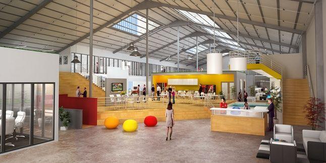 corrugated warehouse conversion ideas - Google Search ...