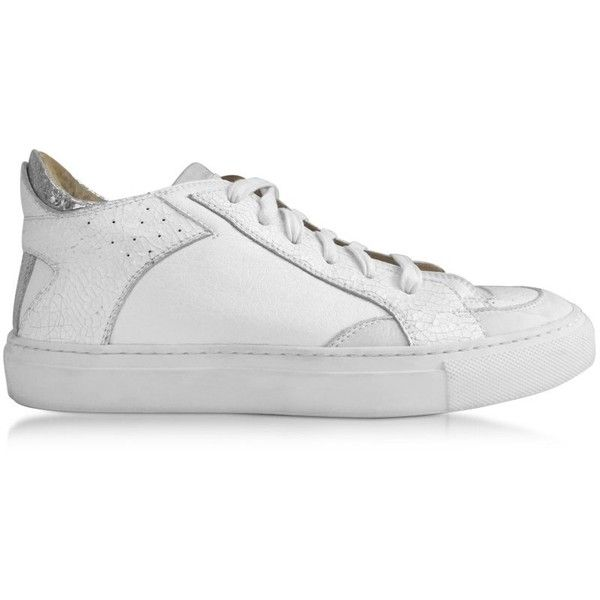 MM6 Maison Martin Margiela White & Silver Superstar Sneakers pUxpn