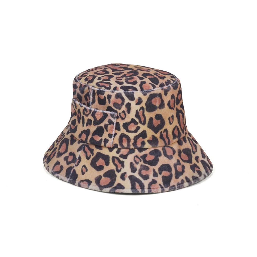 Wave Bucket Leopard Bucket Hat Hats Hat Designs