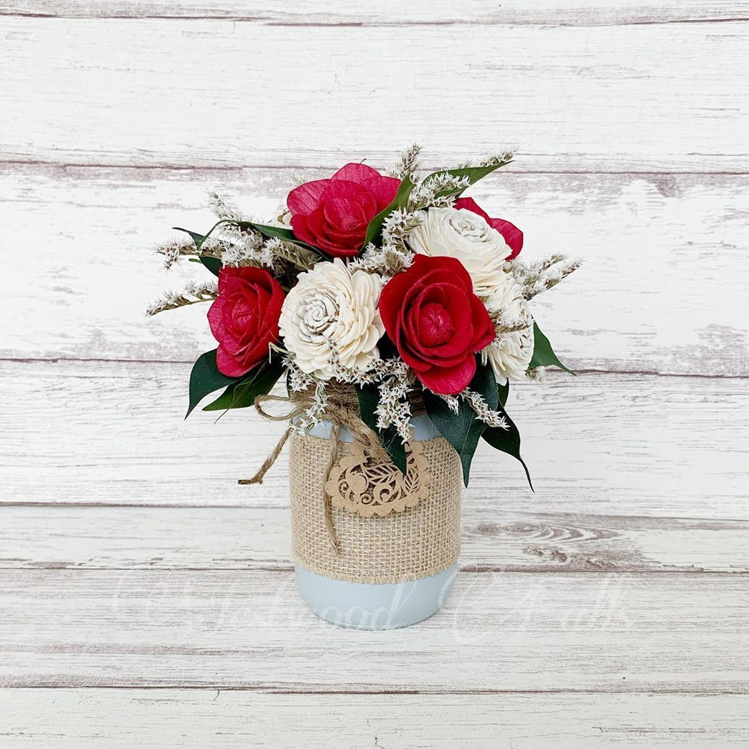 Sola wood flower arrangement. Choose your colors from the