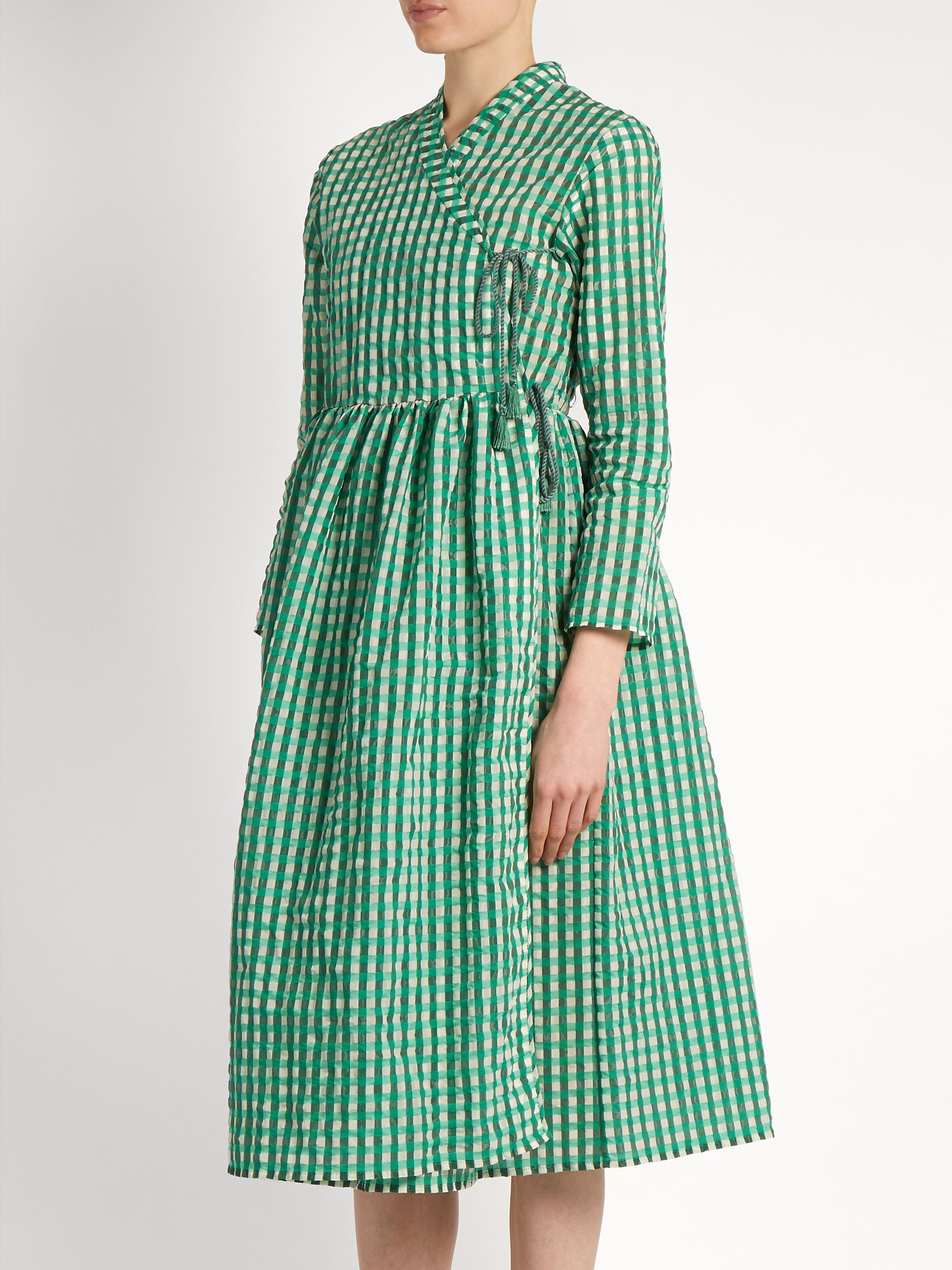 0ee82144f4e Hermione gingham dress