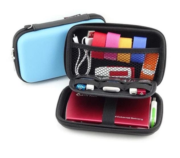 INSERT BAG CASE CABLE PORTABLE DRIVE TRAVEL USB EARPHONE ACCESSORIES ORGANIZER