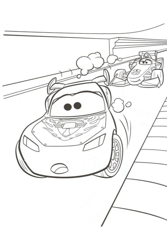 Disney Cars 2 Coloring Pages And Printables For Kids Coloring Pages Cars Coloring Pages Disney Coloring Pages