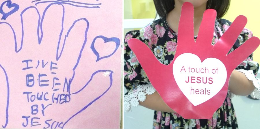 Woman With Issue Of Blood Healed Children S Craft