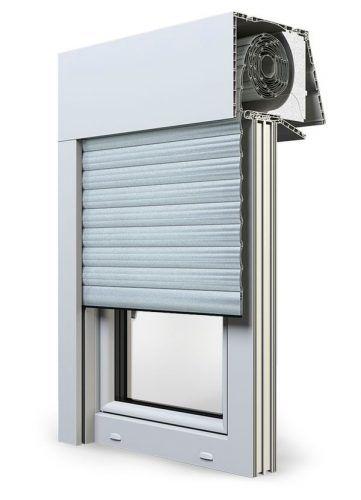 Turbo Aufsatzrollladen sind Rollladen die auf dem Fensterrahmen montiert NK33