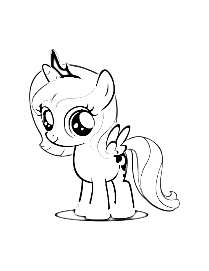 Coloring Coloring In 2020 My Little Pony Coloring Princess Coloring Pages Coloring Pages