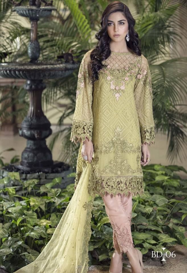 5a3dd6f43e1f Latest Party Wear Embroidered Shirts 2018-2019 Designs Collection ...