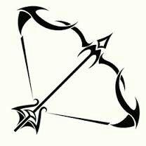 Tribal Bow And Arrow Ink Slips Sagittarius Tattoo Designs Arrow