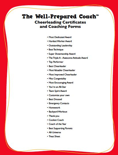 Cheerleading awards google search cheer banquet pinterest end of season cheerleading award certificate ideas yadclub Images