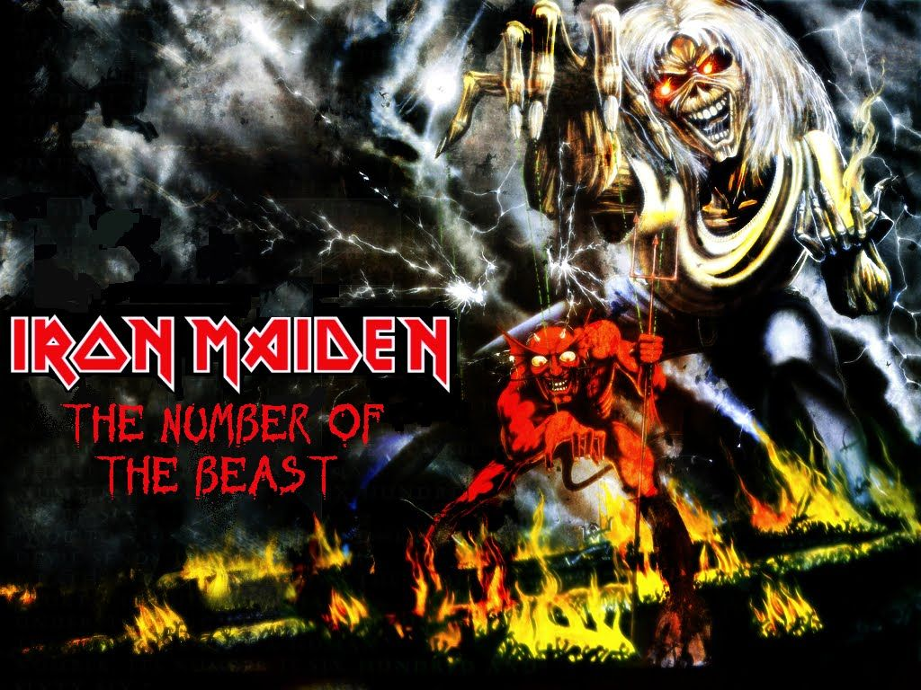 Iron Maiden Number Of The Beast Wallpaper High Quality With