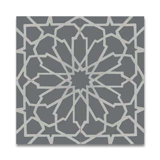 Tile Decor Store Mesmerizing Bahja Grey And White Handmade Cement 8 X 8Inch Moroccan Floor And Design Ideas