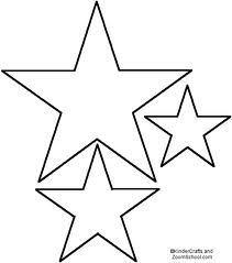 Star Templates   Pinteres
