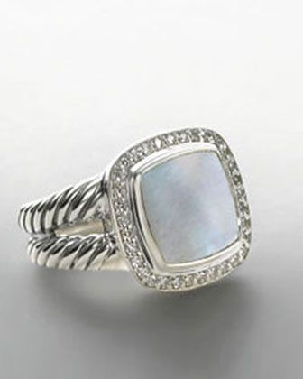 albion ring with and diamonds by david yurman at neiman marcus