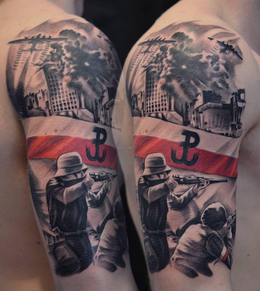 Pin By Joey Messerli On Skin Art Patriotic Tattoos Poland