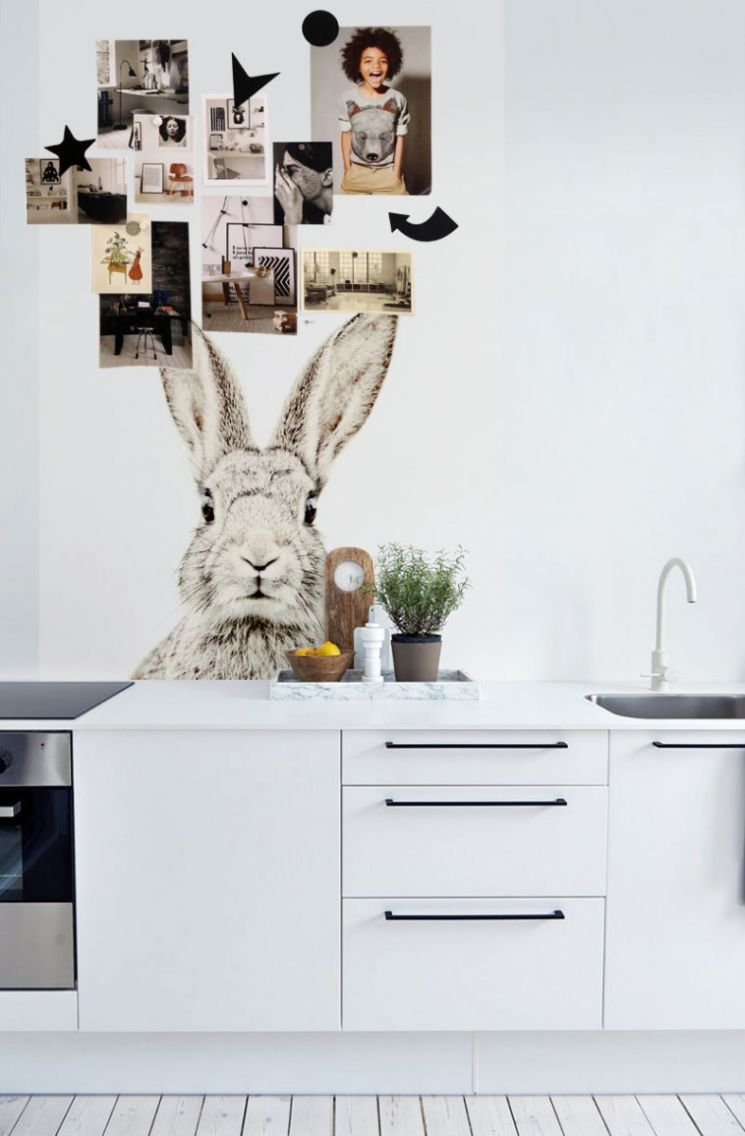 Küchenschränke aus paletten magnetic animal print wallpaper by groovy magnets